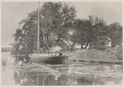 A Norfolk Wherry, Supper Time
